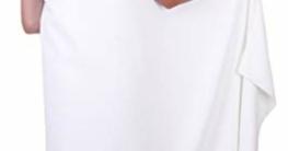 Betz 2 Stück Badetuch groß XXL Größe 100 x 200 cm Badetücher Saunatuch Set DRESDEN 100% Baumwolle Farbe weiß - 2
