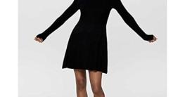 ONLY Damen Kleid ONLAlma 15185761 Black M - 6