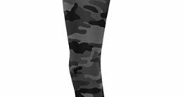 Urban Classics Damen und Mädchen Camo Leggings, lange Camouflage Sporthose für Frauen, Yogahose, dark camo, XL - 6